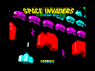 Space Invaders Emulator for ZX Spectrum (Space Invaders Emulator for ZX Spectrum)