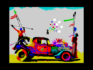 the 8bit fury road (the 8bit fury road)