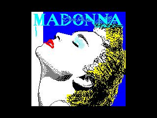 MADONNA. true blue