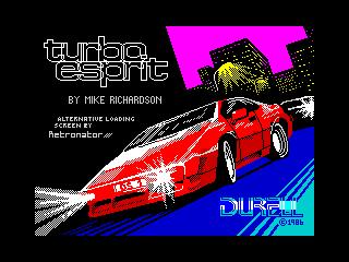 Turbo Esprit (Turbo Esprit)