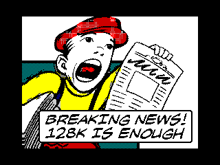 Breaking News! 128K is Enough (Breaking News! 128K is Enough)