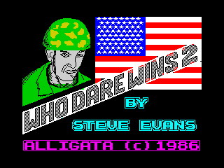 Who Dares Wins II (Who Dares Wins II)