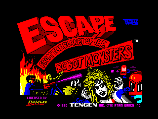 Escape from the Planet of the Robot Monsters (Escape from the Planet of the Robot Monsters)