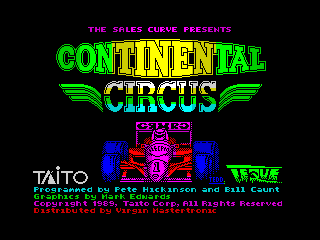 Continental Circus (Continental Circus)