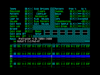 ProTracker 4.01 TURBO-SOUND (ProTracker 4.01 TURBO-SOUND)