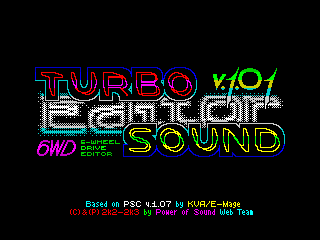 Turbo Sound Editor Tittle 1 (Turbo Sound Editor Tittle 1)
