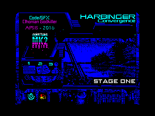 HARBINGER: Convergence - stage one - menu (HARBINGER: Convergence - stage one - menu)