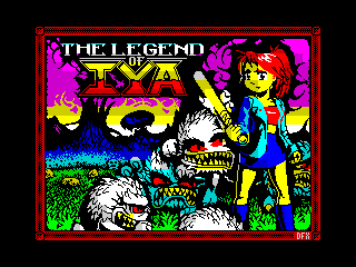 ZX Spectrum LOI Loading screen (ZX Spectrum LOI Loading screen)