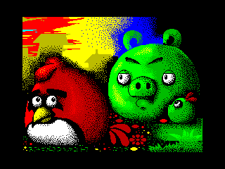 Angry pigs (Angry pigs)