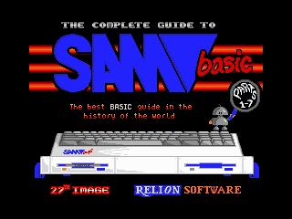 SAM BASIC Course