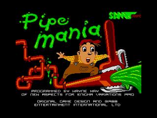 Pipe Mania Titlescreen (Pipe Mania Titlescreen)