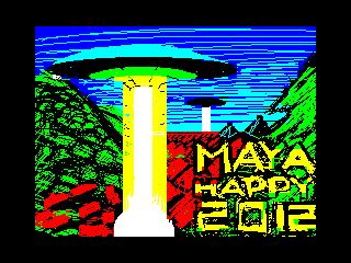 maya wishes you happy 2012 (maya wishes you happy 2012)