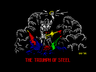 The triumph of steel (The triumph of steel)
