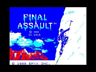 Final Assault (Final Assault)