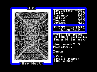 Ultima V - Concept 4 (Ultima V - Concept 4)