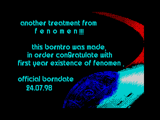 Fenomen Borntro Message (Fenomen Borntro Message)
