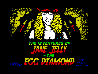 The Adventures of Jane Jelly: The Egg Diamond (The Adventures of Jane Jelly: The Egg Diamond)