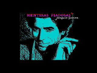 MENTIRAS PIADOSAS. Joaquin Sabina