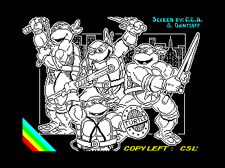 Mutant hero turtles (Mutant hero turtles)