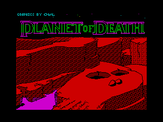 Adventure A: Planet of Death (Adventure A: Planet of Death)