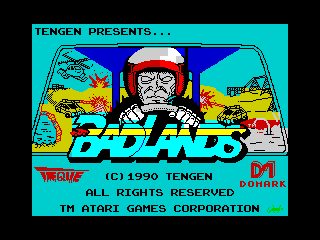 Badlands (title screen) (Badlands (title screen))