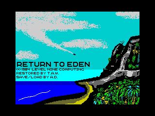 Return to Eden (Return to Eden)
