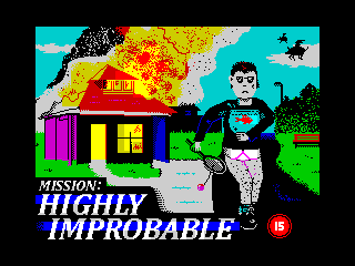 Mission highly improbable
