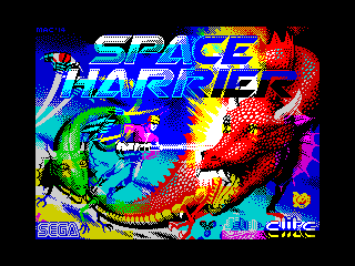Space Harrier (Space Harrier)