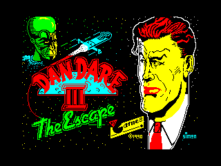 Dan Dare III: The Escape (Dan Dare III: The Escape)