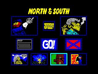 North and South - Menu (North and South - Menu)