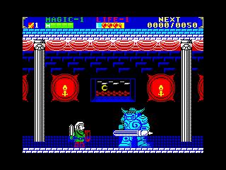 Zelda II ZX Spectrum