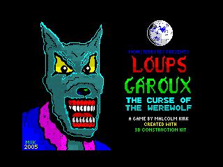 Loups Garoux loading screen (Loups Garoux loading screen)