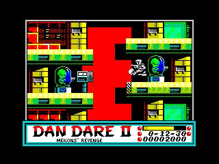 Dan Dare II: Mekon's Revenge (Dan Dare II: Mekon's Revenge)