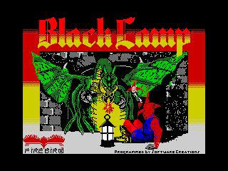 Black Lamp (Black Lamp)