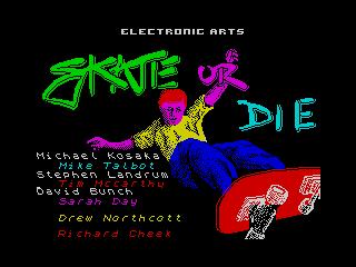 Skate or Die (Skate or Die)