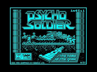 Psycho Soldier (Psycho Soldier)
