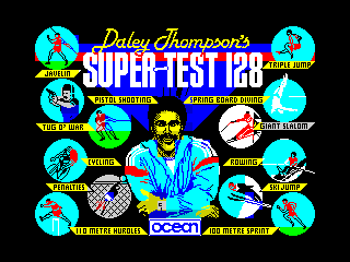 Daley Thompson's Supertest (Daley Thompson's Supertest)