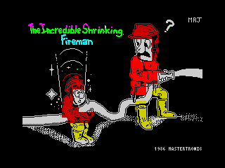Incredible Shrinking Fireman (Early and unpublished)