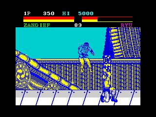 Resultado de imagen de street fighter 2 spectrum
