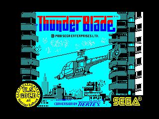Thunder Blade (Thunder Blade)