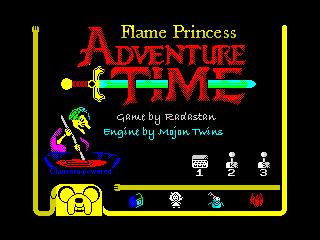 Flame Princess Adventure Time - menu (Flame Princess Adventure Time - menu)