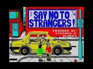 Never Go with Strangers (Never Go with Strangers)
