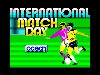 International Match Day (International Match Day)