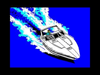ZX Grand Theft Auto Vice City - Speedboat (ZX Grand Theft Auto Vice City - Speedboat)