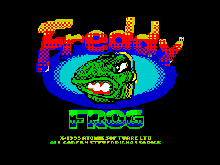 Freddy Frog Speccy Title (Freddy Frog Speccy Title)