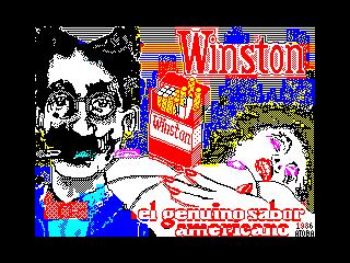 Winston. El genuino sabor americano (Winston. El genuino sabor americano)