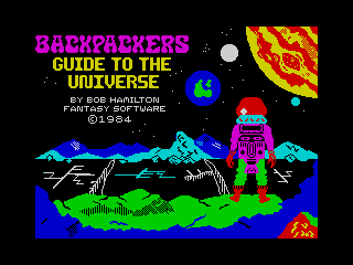 Backpackers Guide to the Universe (Backpackers Guide to the Universe)