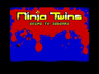 Ninja Twinz Screen (Ninja Twinz Screen)