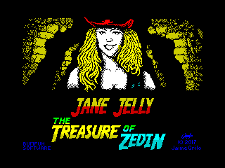 The Adventures of Jane Jelly: The Treasure of Zedin