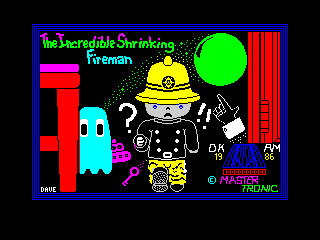Incredible Shrinking Fireman (Incredible Shrinking Fireman)